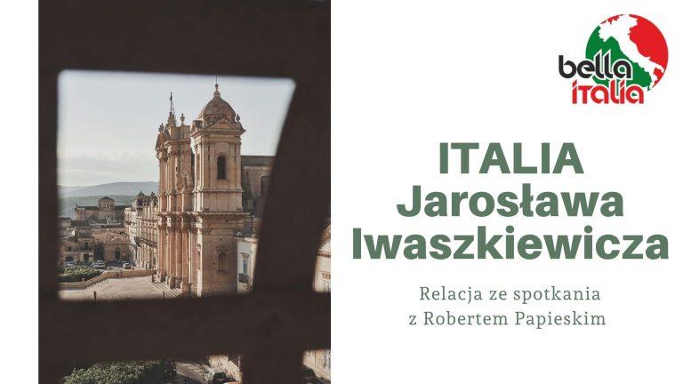 Italia Jarosława Iwaszkiewicz